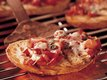 Roasted Pepper Tomato Crostini