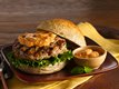Thai Turkey Burgers with Red Curry Mayo