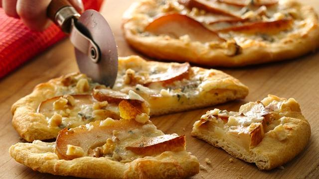 Grands!® Pear and Gorgonzola Mini Pizzas