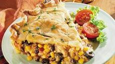 Southwestern Chicken Pie Recipe