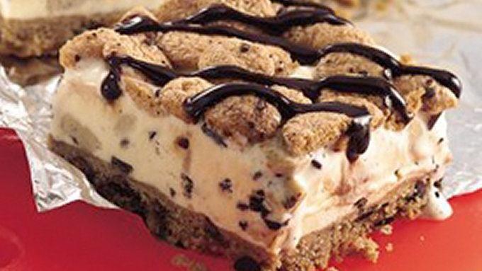 Cookie Dough Ice Cream Dessert recipe - from Tablespoon!