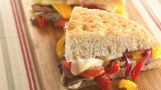 Grilled Vegetable Focaccia Recipe