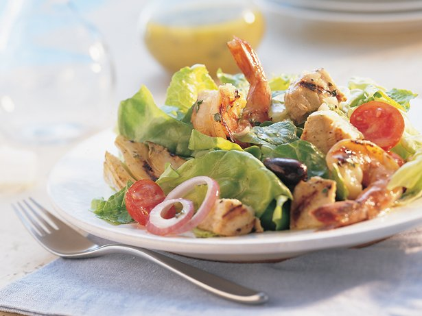 Grilled Seafood Salad