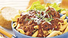 Slow Cooker Beef Ragu with Penne Recipe