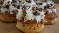 Coconut-Pecan Chocolate Chip Cinnamon Rolls Recipe