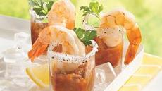 Margarita Shot-Glass Shrimp  Recipe