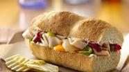 Turkey and Pepper Hoagies