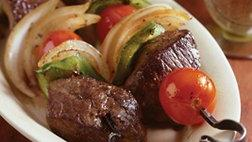 East-Meets-West Beef Kabobs