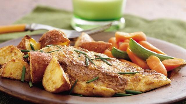 Zesty Roasted Chicken and Potatoes