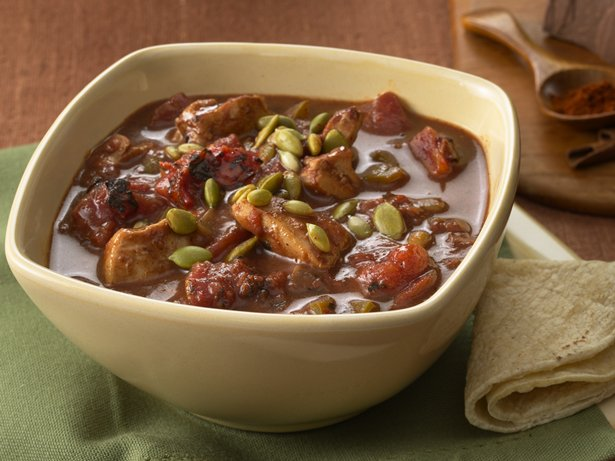 Mole Chicken Chili