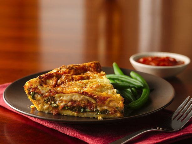 ... spinach and ravioli pie made using Original Bisquick® mix – a
