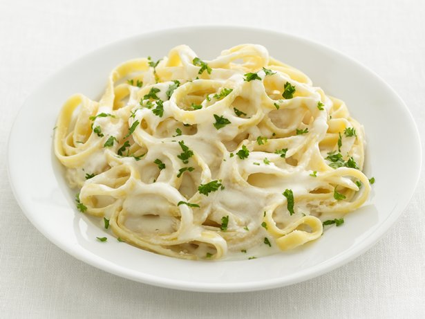 Healthified Fettuccine Alfredo