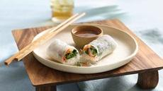 Shrimp Summer Rolls with Dipping Sauce Recipe