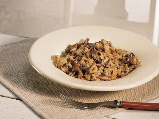 Three-Mushroom Risotto