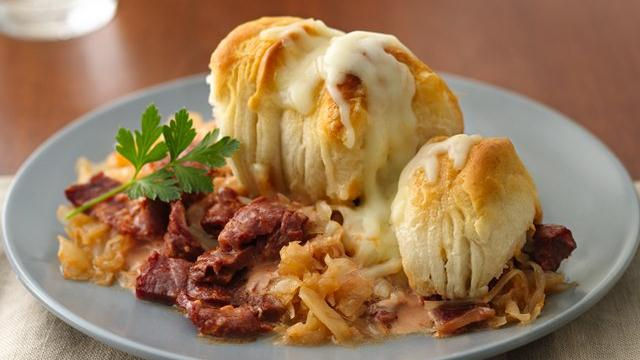 Hot Reuben Pot Pie
