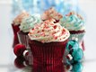 Red Velvet Cupcakes with Cream Cheese Filling and Frosting