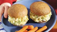 Egg Salad Snack Buns Recipe