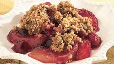 Gingered Apple-Berry Crisp Recipe