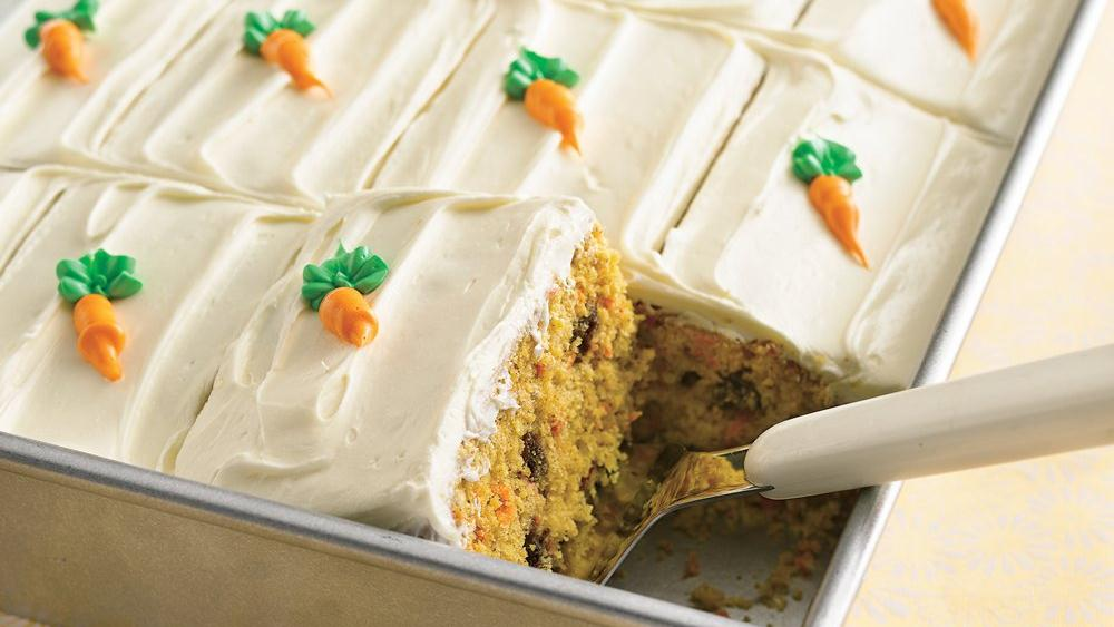 No-Cholesterol Carrot Cake