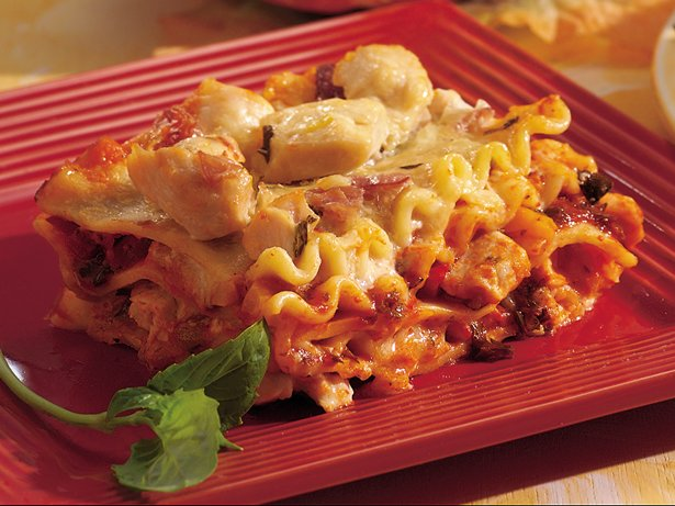 Chicken-Prosciutto Lasagna
