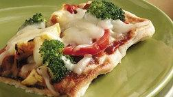 Healthified Grilled Fresh Vegetable Pizza