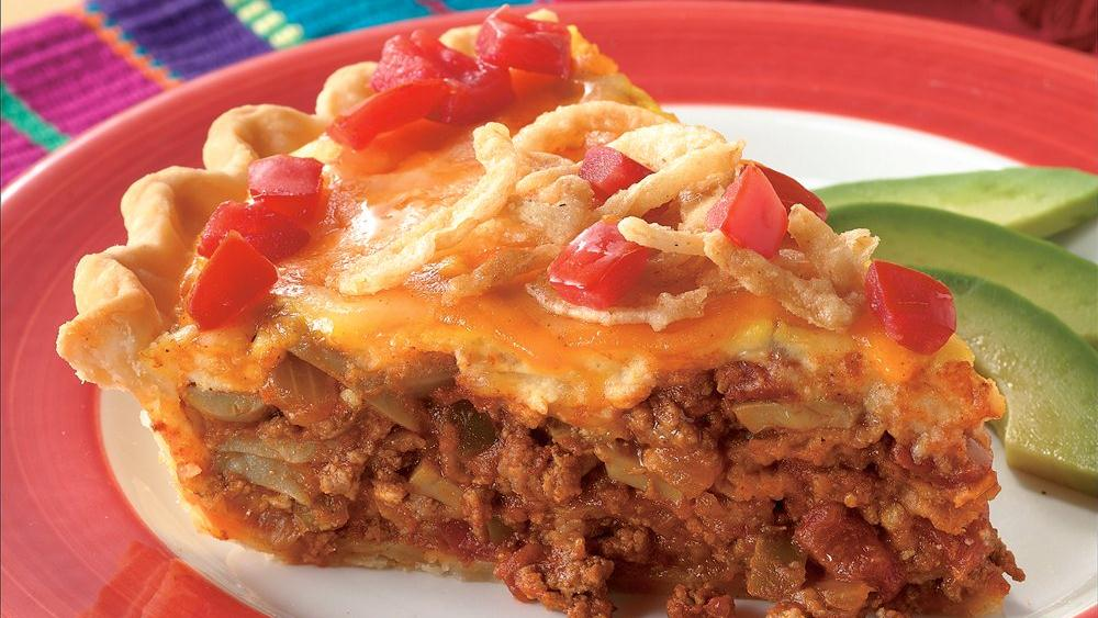 Cheese-Topped Taco Pie recipe from Pillsbury.com