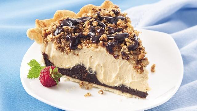 Black-Bottom Peanut Butter Pie Recipe from Pillsbury.com