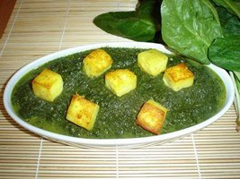 Low Cal Palak Paneer Recipe