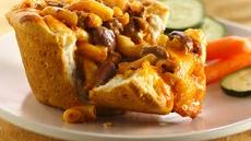 Chili Mac Pasta Pies Recipe