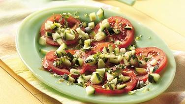 Fresh Tomato and Cucumber Salad