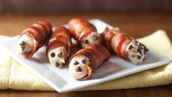 Bacon Peanut Butter Cannoli