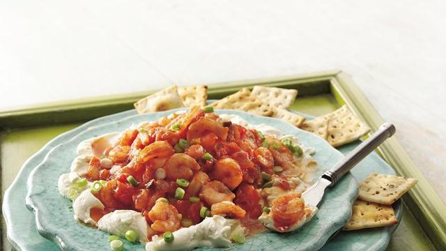 Shrimp-Salsa Dip
