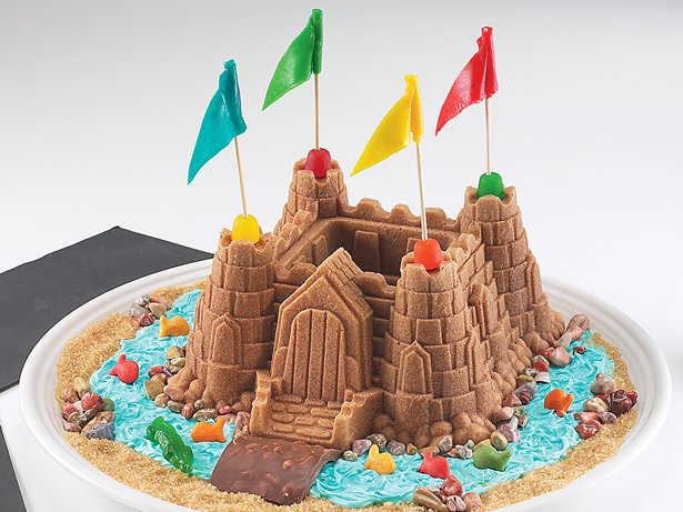 Knight's Castle Cake