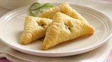 Feta Cheese, Lemon and Chive Turnovers Recipe
