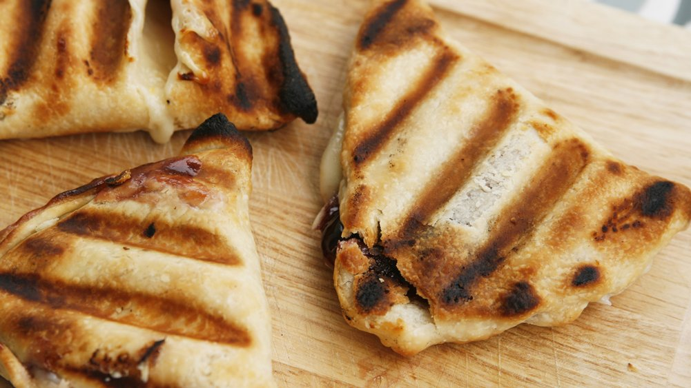 Grilled Raspberry Cheesecake Turnovers recipe from Pillsbury.com