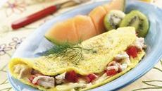 Dilly Chicken Omelet Recipe