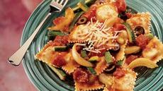 Ravioli with Tomatoes and Zucchini Recipe