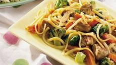 Spicy Thai Pork Lo Mein Recipe