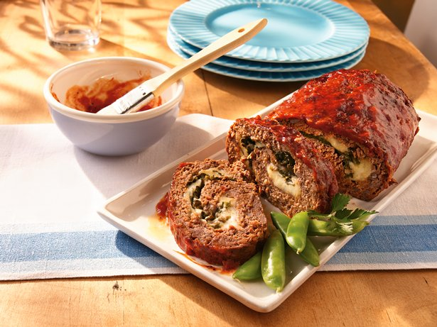 Rolled Italian Meat Loaf recipe from Betty Crocker