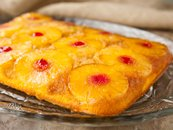 Pineapple Upside-Down Rum Cake
