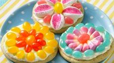 Jelly Bean Flower Cookies Recipe