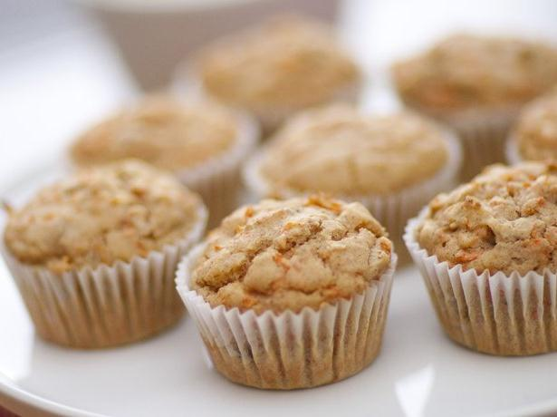 Gluten Free Carrot and Tangerine Muffins
