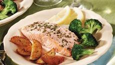 Italian Roasted Salmon Recipe