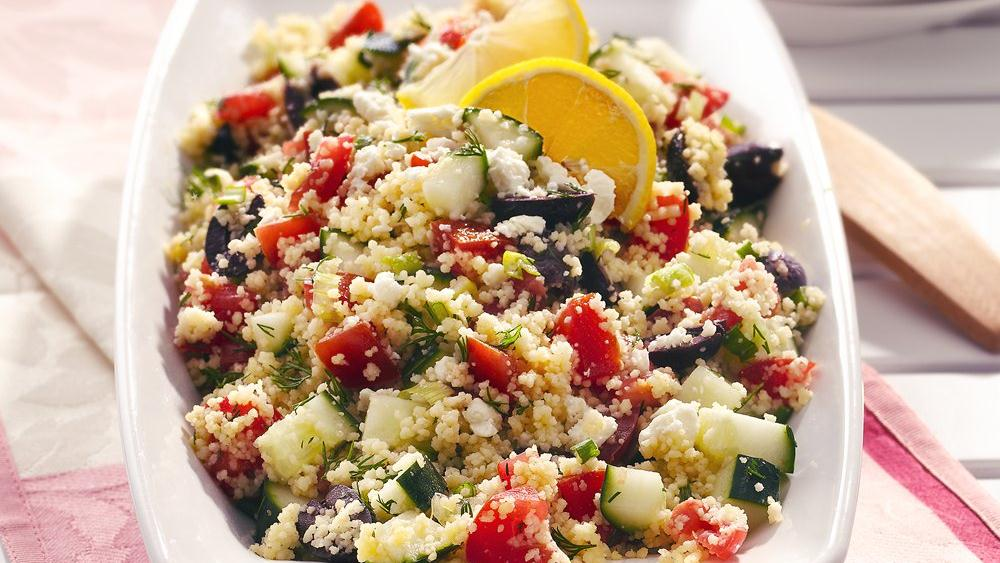 Whole Foods Mediterranean Couscous Salad And Broccoli ...