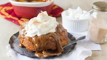 Dulce de Leche Bread Pudding