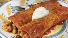 Tofu Black Bean Enchiladas Recipe