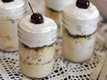 Individual Tres Leches Cakes with Cognac and Dark Chocolate