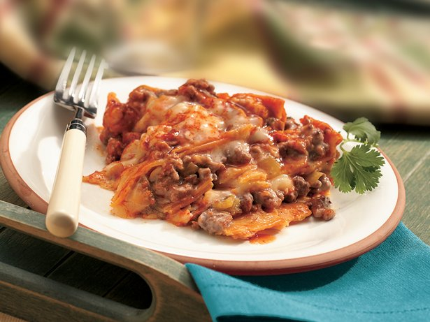 Slow Cooker Layered Enchilada Dinner