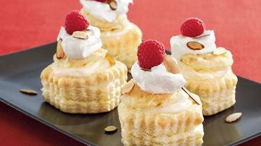 Almond-Cream Puff Pastries