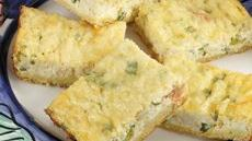 Crab Quiche Squares Recipe